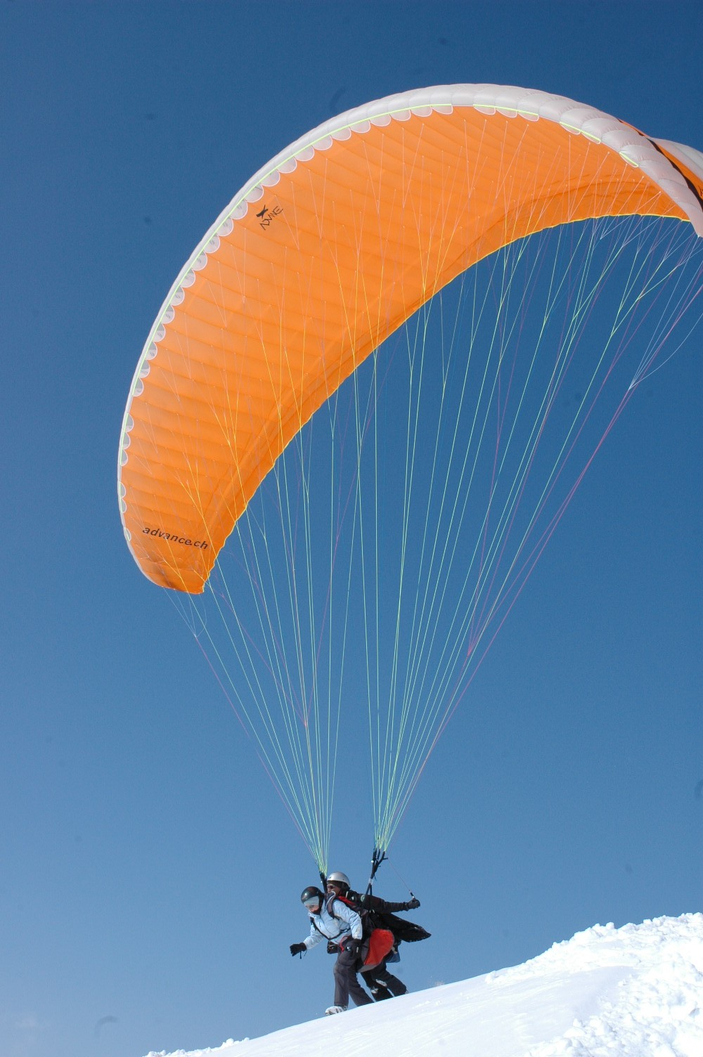 Tandem Paragliding is open to all from 3 to 99 years more ...